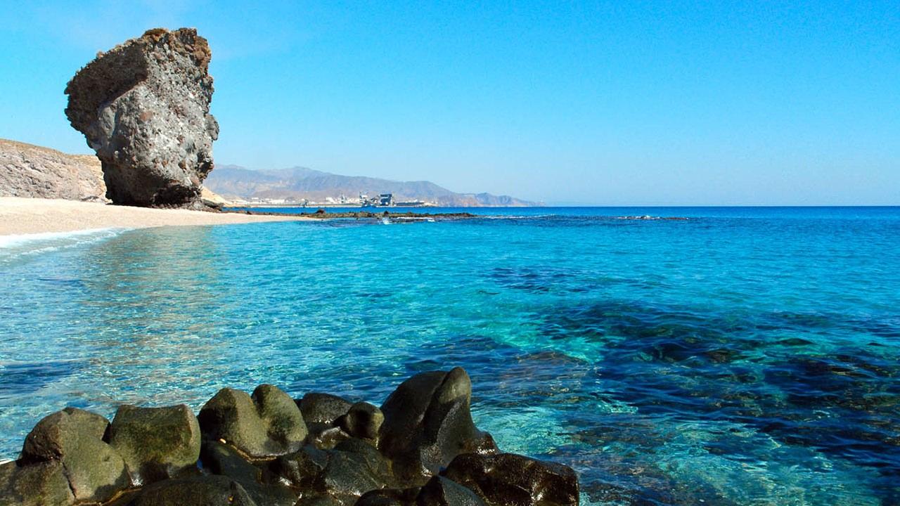 playas almeria espana