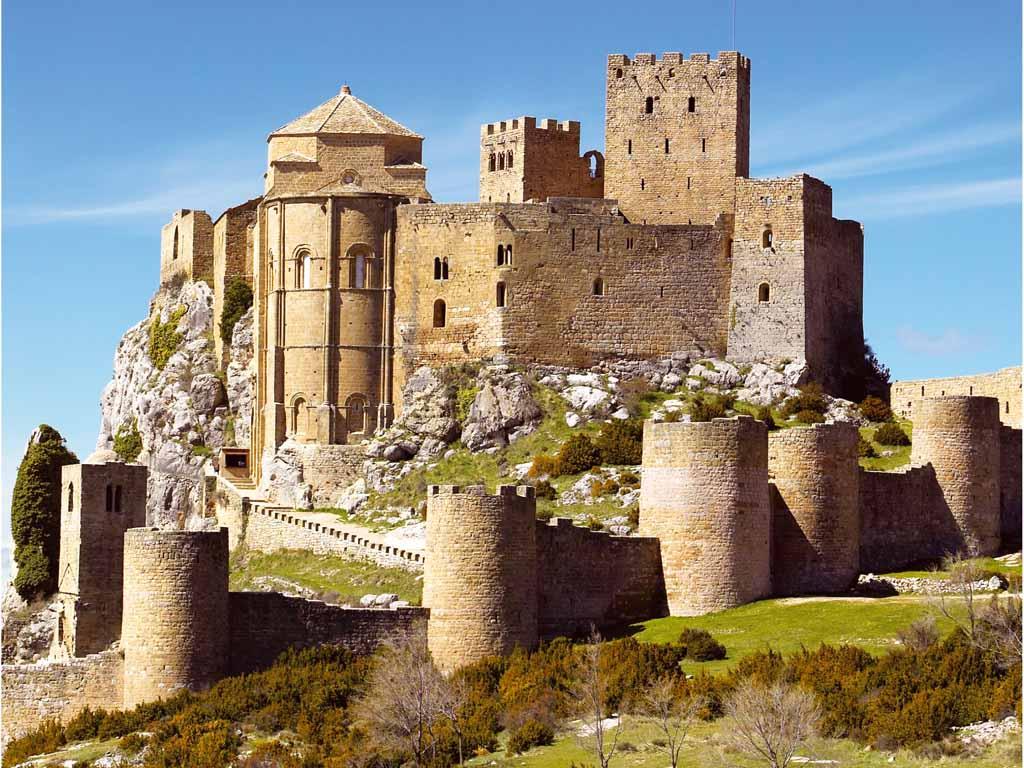 Castillo de loarre el castillo rom nico mejor conservado - Arquitectos ponferrada ...